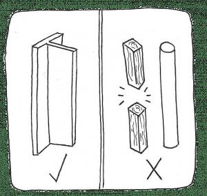 ¿Guías redondas o de madera?