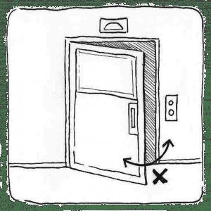 ¿Puertas no cierran/abren?